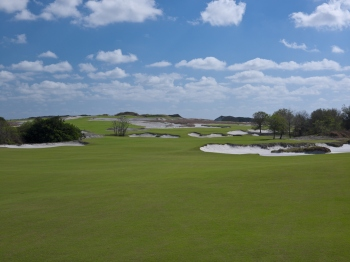 17th hole, Streamsong Blue