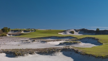 4th Hole, Streamsong Blue